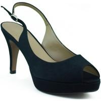 Sapatos Mulher Sandálias Marian DE FIESTA PUNTA NEGRO