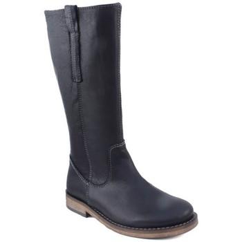Sapatos Mulher Botas Acebo's CAMPERA BOTA NIÑA MUJER MARRON