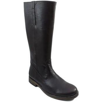 Sapatos Mulher Botas Acebo's CAMPERA BOTA NIÑA MUJER NEGRO