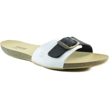 Sapatos Mulher Sandálias MTNG MUSTANG VAQUETA SANDALIA ZUECO BLANCO