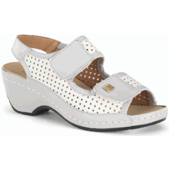 Sapatos Mulher Sandálias Calzamedi SANDALIA ORTO BLANCO