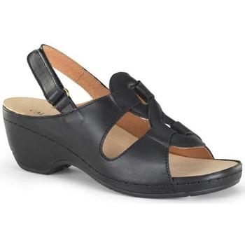 Sapatos Mulher Sandálias Calzamedi SANDALIA ORTOPEDICA PROMO W NEGRO