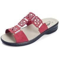 Sapatos Mulher Chinelos Dtorres IZAN S PLANTILLAS S ROJO