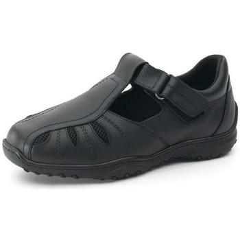 Sapatos Homem Sapatos Calzamedi SANDALIA PARA HOMBRE DIABETICO. COMODA Y ANCHA NEGRO