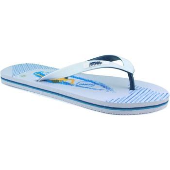 Sapatos Homem Chinelos MTNG MUSTANG CHANCLAS PLAYA BLANCO