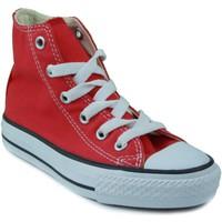 Sapatos Criança Sapatilhas de cano-alto Converse ALL STAR ROJO