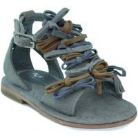 Sapatos Criança Sandálias Oca Loca OCA LOCA VALENCIA TRICOLOR MARRON
