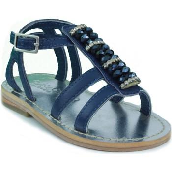 Sapatos Criança Sandálias Oca Loca OCA LOCA SANDALIA BEBE STRASS AZUL