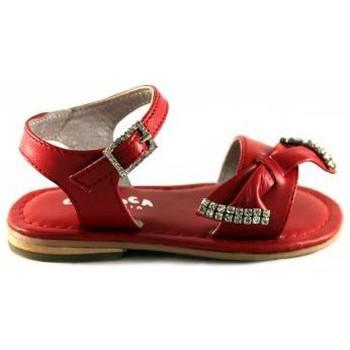 Sapatos Criança Sandálias Oca Loca OCA LOCA VALENCIA SANDALIA ROJO