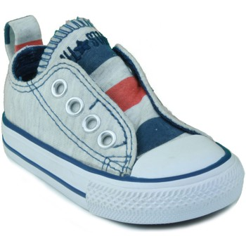 Sapatos Criança Sapatilhas Converse AS SLIP OX BEBE AZUL