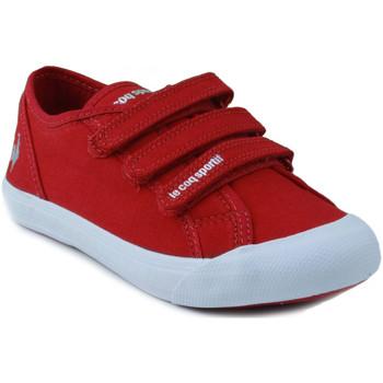 Sapatos Criança Sapatilhas Le Coq Sportif SAINT MALO PS STRAP ROJO