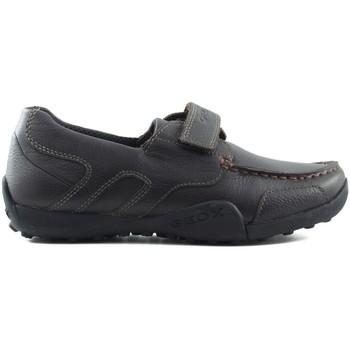 Sapatos Criança Sapatilhas Geox JW SNAKEN COLEGIAL MARRON