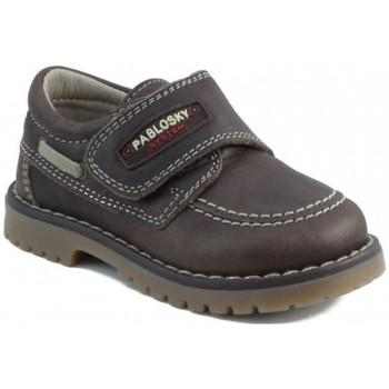 Sapatos Criança Sapatilhas Pablosky TOMCAT NAUTICO MARRON