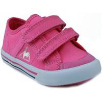 Sapatos Criança Sapatilhas Le Coq Sportif  DEAUVILLE PLUS ROSA