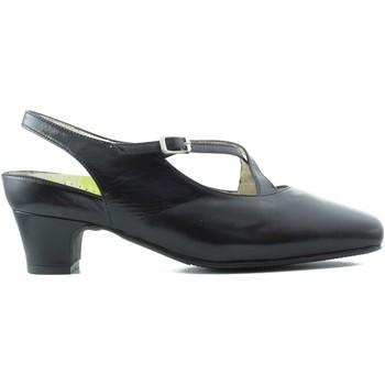 Sapatos Mulher Escarpim Drucker Calzapedic ANATÓMICO CÓMODO MUJER ANCHO FLEXIBLE NEGRO