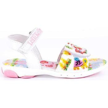 Sapatos Rapariga Sandálias Lelli Kelly LELLI KELLY ELEPHANT Y JIRAFFE 2 BLANCO