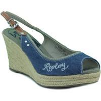 Sapatos Mulher Sandálias Replay QUINTA W NAVY