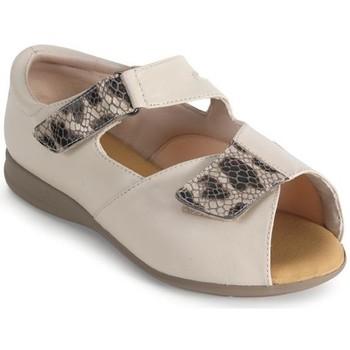 Sapatos Mulher Sandálias Calzamedi SEÑORA BEIGE