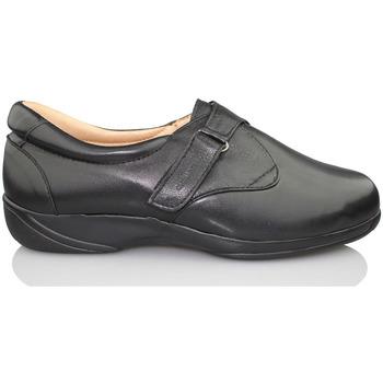 Sapatos Mulher Mocassins Calzamedi PALA ELASTICA DE MUJER ANATOMICO NEGRO