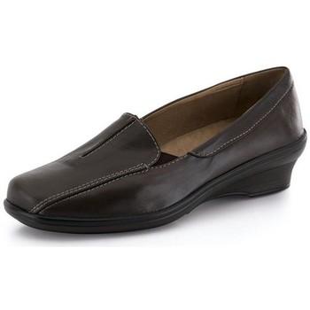 Sapatos Mulher Mocassins Calzamedi MOCASIN COMODO ANATOMICO MARRON