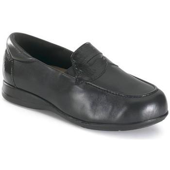 Sapatos Mulher Mocassins Calzamedi MUJER COMODO ANCHO UNISEX NEGRO