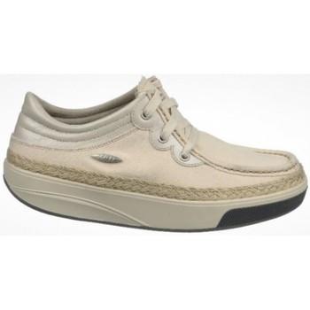 Sapatos Mulher Sapatilhas Mbt KITO 3 EYE LACE CANVAS W NATURAL