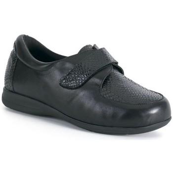 Sapatos Mulher Sapatos Calzamedi MOCASIN CON VELCRO ANCHO Y COMODO NEGRO