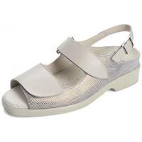 Sapatos Mulher Sandálias Dtorres ANIA S PLANTILLAS BEIGE09