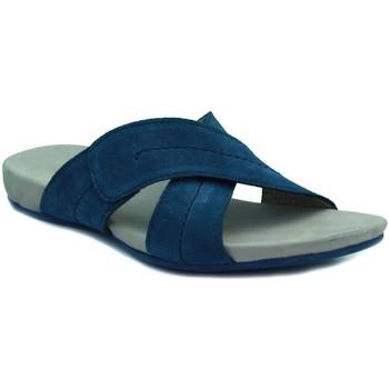 Sapatos Mulher Chinelos Lottusse DELAVE TEX COBA MARINO