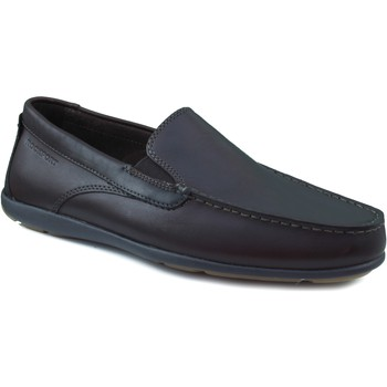 Sapatos Homem Mocassins Rockport ZAPATO HOMBRE CAPE NOBLE 2 PIEL LISA MARRON