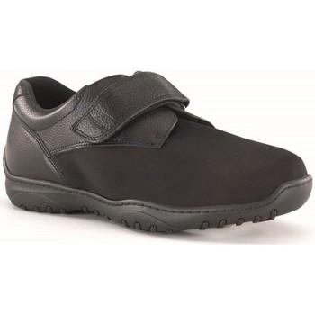 Sapatos Homem Sapatos Calzamedi VELCRO DIABETICO PALA ELASTICA TOTAL ADAPTABLE NEGRO