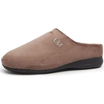 Sapatos Chinelos Calzamedi IR POR CASA UNISEX MARRON
