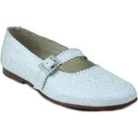 Sapatos Rapariga Sabrinas Rizitos RZTS COMUNION BLANCO