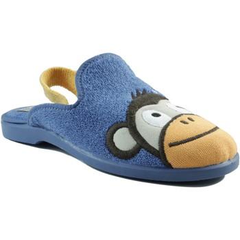 Sapatos Criança Chinelos Vulladi DOMESTICO CHICO GOMA AZUL