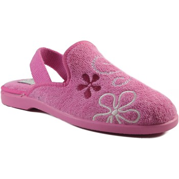 Sapatos Criança Chinelos Vulladi CHICA IR POR CASA CON GOMA ROSA