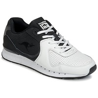 Sapatos Homem Sapatilhas Kangaroos COIL-R2 TONE Branco / Preto