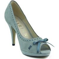 Sapatos Mulher Escarpim Marian NUBUCK AZUL