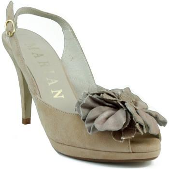 Sapatos Mulher Sandálias Marian NUBUCK W MARRON