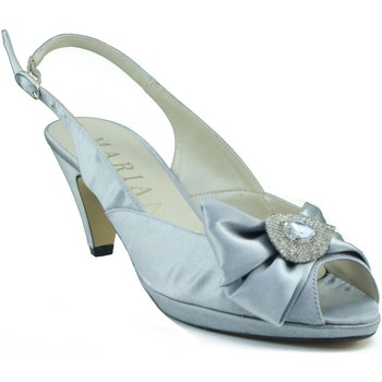Sapatos Mulher Sandálias Marian ZAPATO TACON MEDIO PLATA PLATA