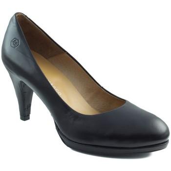 Sapatos Mulher Escarpim Estefania Marco GAUCHO NEGRO