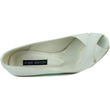 Sapatos Mulher Escarpim Angel Alarcon RASO OPORTO BLANCO