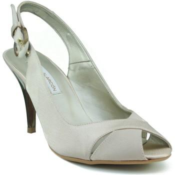Sapatos Mulher Sandálias Angel Alarcon ZAPATO DE FIESTA MUJER BEIGE