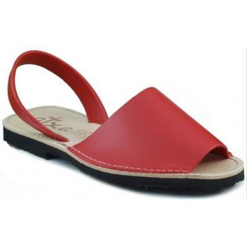 Sapatos Chinelos Arantxa MENORQUINA DE PIEL ROJO
