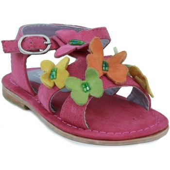 Sapatos Rapariga Sandálias Oca Loca OCA LOCA  ANTE AD MARIPOSA FUXIA