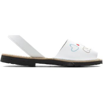 Sapatos Rapariga Sandálias Arantxa MENORQUINA PERRO BLANCO
