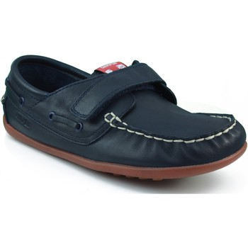 Sapatos Rapaz Sapato de vela Camper CAMPER S KRYPTON DENIM WAY HONEY MARINO