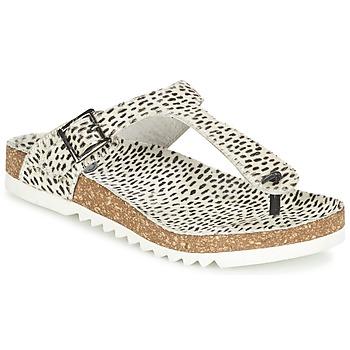 Sapatos Mulher Chinelos Maruti BENTHE Bege / Preto