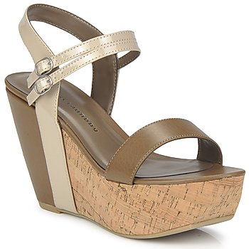 Sapatos Mulher Sandálias Chinese Laundry GO GETTER Toupeira / Bege