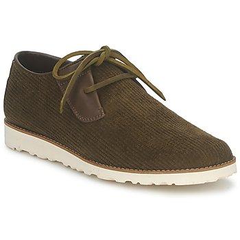 Sapatos Homem Sapatos Nicholas Deakins Macy Micro Prata