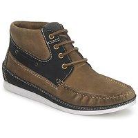 Sapatos Homem Sapatilhas de cano-alto Nicholas Deakins bolt Prata